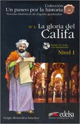 Un Paseo Por LA Historia : LA Gloria Del Califa + CD - фото обкладинки книги