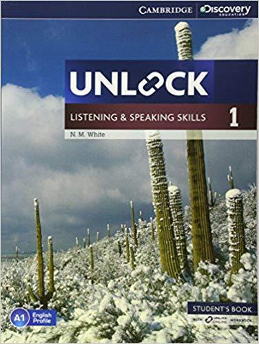 Підручник Unlock Level 1 Listening and Speaking Skills Student's Book and Online Workbook
