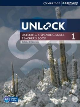 Unlock Level 1 Listening and Speaking Skills Teacher's Book with DVD - фото книги