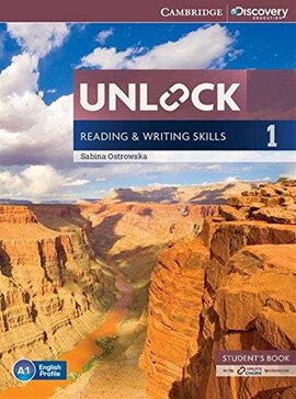 Підручник Unlock Level 1 Reading and Writing Skills Student's Book and Online Workbook