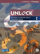 Unlock Level 1 Reading and Writing Skills Teacher's Book with DVD - фото обкладинки книги