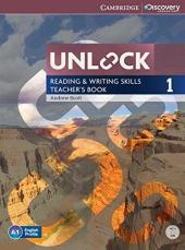Unlock Level 1 Reading and Writing Skills Teacher's Book with DVD - фото обкладинки книги