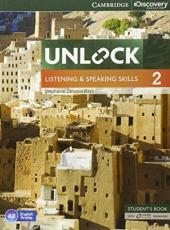 Unlock Level 2 Listening and Speaking Skills Student's Book and Online Workbook - фото обкладинки книги