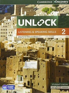 Unlock Level 2 Listening and Speaking Skills Student's Book and Online Workbook - фото книги