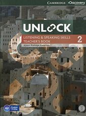 Підручник Unlock Level 2 Listening and Speaking Skills Teacher's Book with DVD