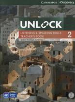 Unlock Level 2 Listening and Speaking Skills Teacher's Book with DVD