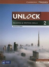 Unlock Level 2 Reading and Writing Skills Student's Book and Online Workbook - фото обкладинки книги