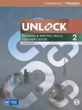 Книга для вчителя Unlock Level 2 Reading and Writing Skills Teacher's Book with DVD