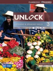 Unlock Level 3 Listening and Speaking Skills Student's Book and Online Workbook - фото обкладинки книги