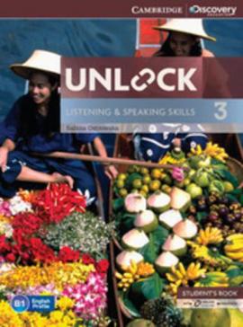 Підручник Unlock Level 3 Listening and Speaking Skills Student's Book and Online Workbook