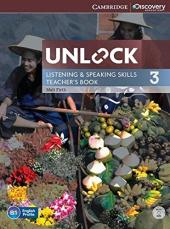 Unlock Level 3 Listening and Speaking Skills Teacher's Book with DVD - фото обкладинки книги