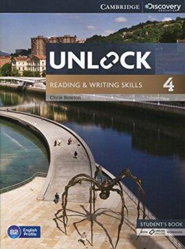 Підручник Unlock Level 4 Reading and Writing Skills Student's Book and Online Workbook