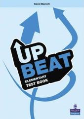 Upbeat Elementary. Test Book - фото обкладинки книги