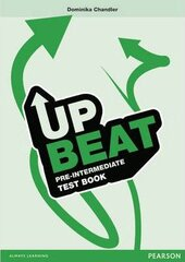 Upbeat Pre-Intermediate. Test Book - фото обкладинки книги