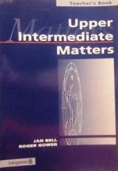 Upper Intermediate Matters Students' Book - фото обкладинки книги