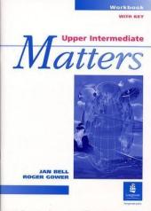Upper Intermediate Matters Workbook Key - фото обкладинки книги