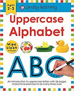 Uppercase Alphabet: Wipe Clean Workbooks - фото книги
