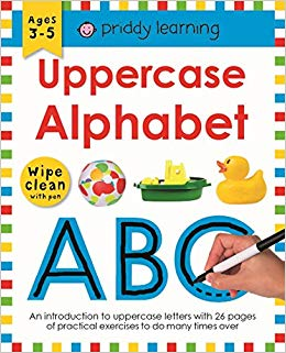 Uppercase Alphabet: Wipe Clean Workbooks - фото книги