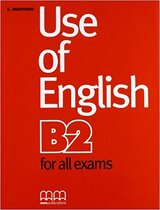 Робочий зошит Use of English for B2 Student's Book
