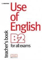 Робочий зошит Use of English for B2 Teacher's Book