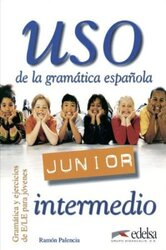 Uso de la gramatica espanola - Junior : Guia didactica: avanzado - фото обкладинки книги