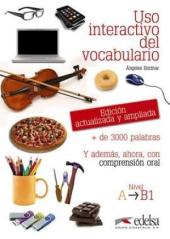 Uso Interactivo del vocabulario : Libro (Nivel A - B1) - фото обкладинки книги