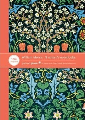 V&A William Morris Evening Garden ECO Writer's Notebook - фото книги