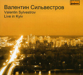 "Валентин Сильвестров ""Live in Kyiv"" - фото книги"