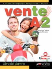 Vente : Libro del alumno + audio descargable (Volume A2 only) - фото обкладинки книги