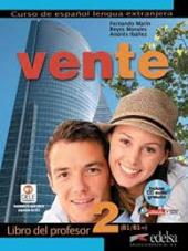 Vente : Libro del profesor + CD 2 (B1) - фото обкладинки книги