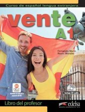 Vente : Libro Del Profesor + CD Audio (Volume A1 Only) - фото обкладинки книги
