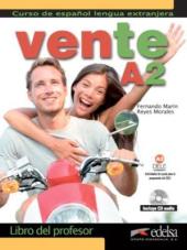 Vente : Libro del profesor + CD audio (Volume A2 only) - фото обкладинки книги