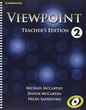 Viewpoint Level 2 Teacher's Edition with Assessment Audio CD/CD-ROM - фото обкладинки книги