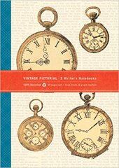 Vintage Pictorial ECO Writer's Notebook - фото обкладинки книги