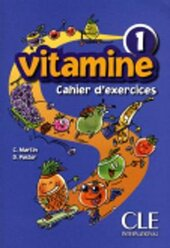 Vitamine 1. Cahier d'exercices + CD audio + portfolio - фото обкладинки книги