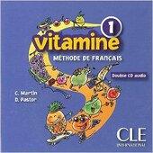 Vitamine 1. CD audio pour la classe (набір із 2 аудіодисків) - фото обкладинки книги