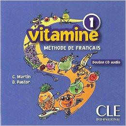 Vitamine 1. CD audio pour la classe (набір із 2 аудіодисків) - фото книги