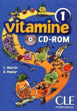 Vitamine 1. CD-ROM (інтерактивний комп'ютерний диск) - фото книги