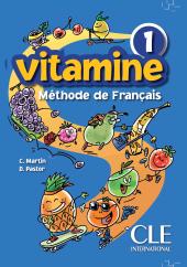 Vitamine 1. Livre de L'eleve - фото обкладинки книги
