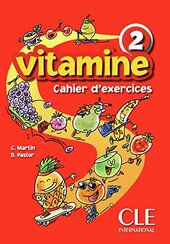 Vitamine 2. Cahier d'exercices + CD audio + portfolio - фото обкладинки книги