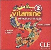 Vitamine 2. CD audio pour la classe (набір із 2 аудіодисків) - фото обкладинки книги