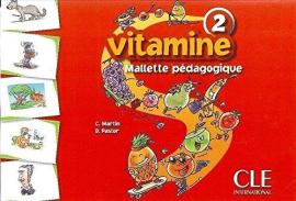 Vitamine 2. Mallete pedagogique (148 flashcards) - фото книги