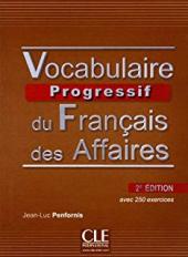 Vocabulaire progressif du francais des affaires 2eme edition : Corriges - фото обкладинки книги