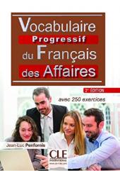 Vocabulaire progressif du francais des affaires 2eme edition : Livre + CD - фото обкладинки книги