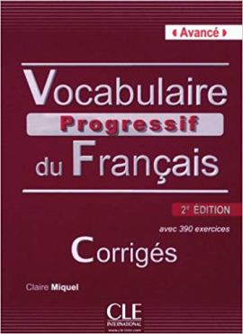 Vocabulaire progressif du francais - Nouvelle edition : Corriges Niveau avanc - фото книги