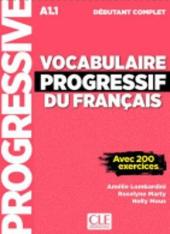 Vocabulaire progressif du francais - Nouvelle edition : Livre A1.1 + CD + App - фото обкладинки книги
