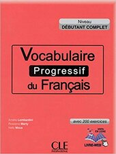Vocabulaire progressif du francais - Nouvelle edition : Livre + Audio CD dbutant - фото обкладинки книги