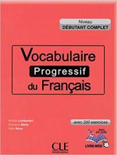 Vocabulaire progressif du francais - Nouvelle edition : Livre + Audio CD dbutant - фото обкладинки книги