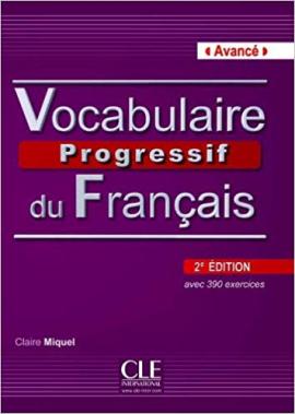 Vocabulaire progressif du francais - Nouvelle edition : Livre + Audio CD Niveau avanc - фото книги