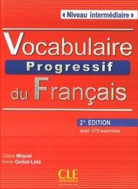 Vocabulaire progressif du francais - Nouvelle edition : Livre + Audio CD Niveau intermdiaire - фото книги
